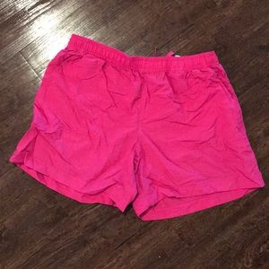 Pink Columbia Athletic Shorts